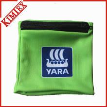 Custom Polyester Wristband mit Reißverschluss Tasche