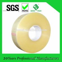 Cinta de empaquetado impresa amarillenta de BOPP con ISO SGS aprobado