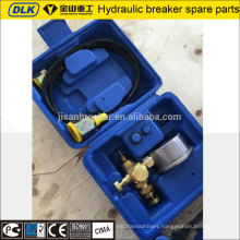 Soosan hydraulic rock breaker accumulators charging kit
