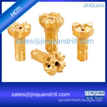 DTH button bits/DTH drill bits for mining and rock drilling