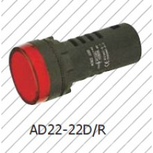 Red 22mm/16mm Indicator Light, Signal Lamp Red, Greem, Blue, White, Yellow