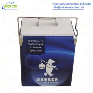 17 Liters Retro Metal Cooler