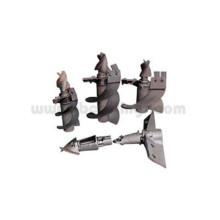 Kundenspezifische Präzisionsgusskomponenten für verlorenes Wachs aus Stahl