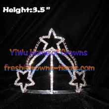 wholesale Star Rhinestone Crowns And Tiaras