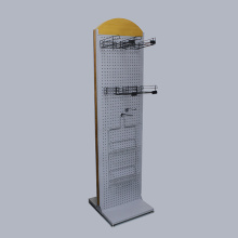 Customized Retail Metal Hanging Display Racks For Store