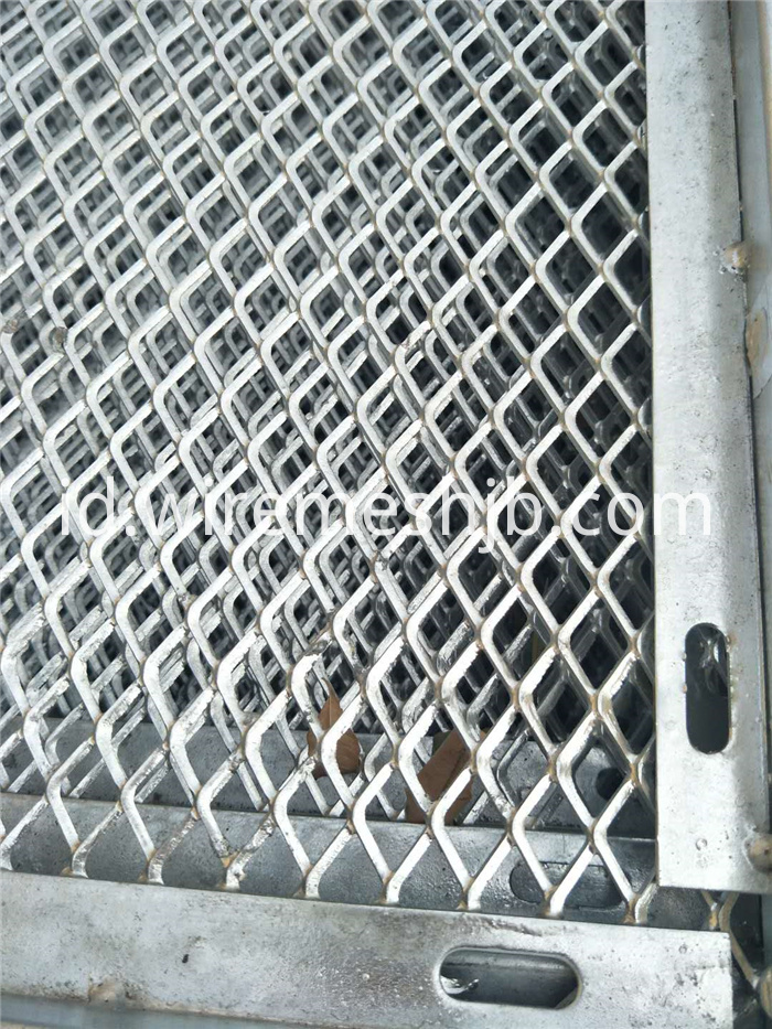 Galvanized Expanded Metal Mesh