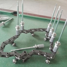 coating machine parts spindle