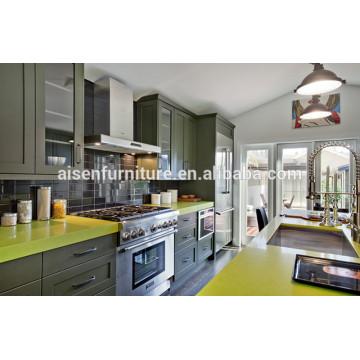 Modern American Shaker Style Massivholz Küchenschrank American Standard