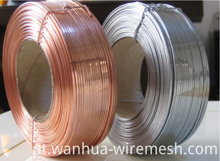 Most popular 4mm soft type galvanized flat wire (1)
