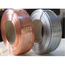 Most popular 4mm soft type galvanized flat wire