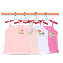 Crianças Tops Meninas Crianças Verão Casual Top Child Wear Baby Pano