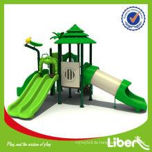 Plastic Slides Playset Outdoor Spielplatz mit Slides Woods Serie LE.SL.003