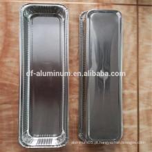 Bandeja de panela de pão de alumínio com qualidade alimentar