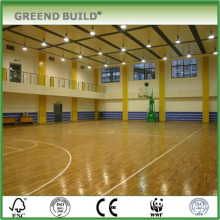 Indoor Maple Hardwood basketball flooring