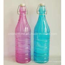 Botella / frasco de almacenamiento de vidrio con volumen de 1000 ml (TM2016)