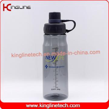 800ml neues Design Kunststoff Sport Wasser trinken Flasche mit BPA FREE