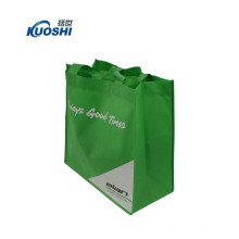Laminated pp nonwoven house shopping bag with dividers