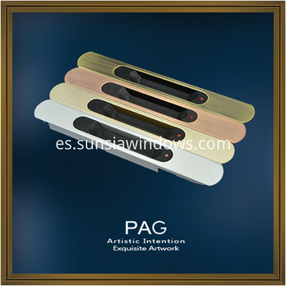 Excellent Quality Zinc Alloy Painted and Electroplated Touch Lock
