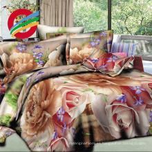 al por mayor flor hermosa fabricantes de sábanas tela 3d