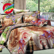 wholesale beautiful flower bedsheet manufacturers fabric 3d