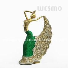 Resin Decorative Pavane Statue