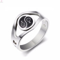 Wholesale Hollow Gay Puzzle Female Stainless Steel Rings