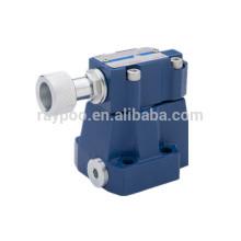 DZ10 válvula de equilibrio hidráulico accionada por piloto para la máquina de espuma de poliuretano hidráulica