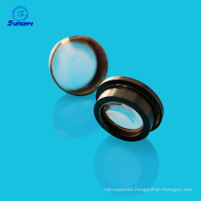 Coating lens optics high precision