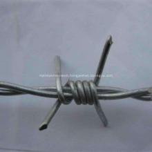 Galvanized Barbed Wire Double Strand Reverse Twist