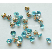 Point Back Acrylic Crystal Stones