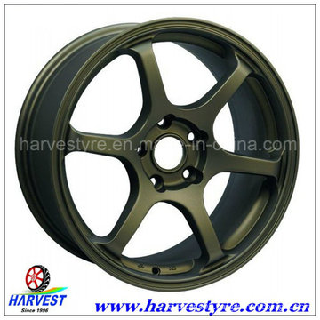 Top Quality Aluminum Car Wheels with Various Coating Process