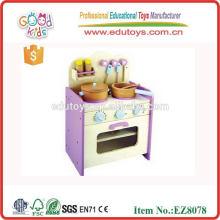 Mini Kids Kitchen Wooden Toy Set EZ8078
