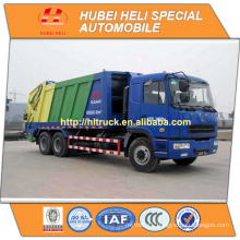 CAMC 6x4 20 m3 heavy duty refuse compactor WEICHAI Diesel Engine WP10.270N 270hp