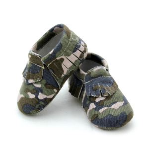 Babyskor Camouflage Moccasin Shoes