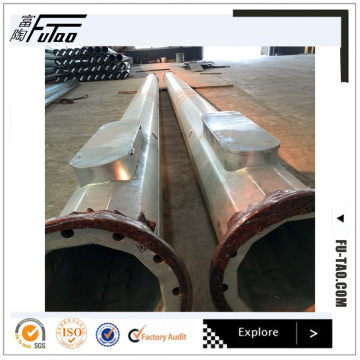 20M Polygonal Round Taper Steel Pole