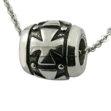 Custom Engraved Nome Metal Beads