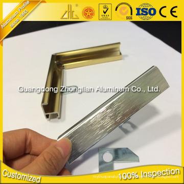 Aluminio Fabricantes 6463 Marco de aluminio para las imágenes