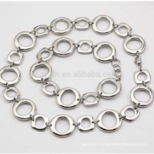 Custom Different Shape Stainless Steel Link Chain Necklace