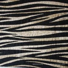 Zebra Style Chenille Canapé Décoration Tissu