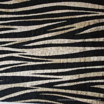 Zebra Stil Chenille Sofa Dekoration Stoff