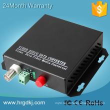 Redes de seguridad del sistema de CCV de bajo costo convertidor HDCVI hd-cvi de fibra óptica a transceptor bnc