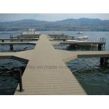 WPC Massivholz Plastik Composite Decking / Laminat Bodenbelag