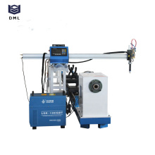 máquina de corte de tubo de metal plasma cnc