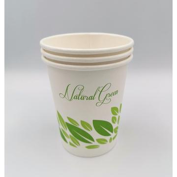 10oz Compostable Coffee Tea Paper Hot Cups