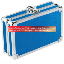Professional Aluminum Makeup Kit Rolling Case For Dresser