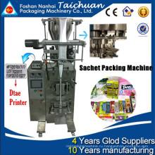 Вертикальное высококачественное недорогое оборудование из Китая для малого бизнеса vffs автоматическая сахарная упаковочная машина TCLB-C60K