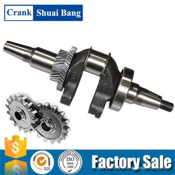Fabricación del cigüeñal del OEM de Shuaibang, cigüeñal del generador de la gasolina