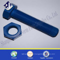 hardware supplies from China standard size TEFLON bolt and nut