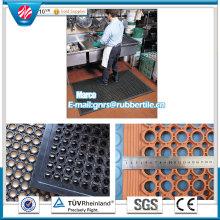 Anti-Rutsch-Gummimatte Anti-Ermüdungs-Gummimatte Werkstatt Gummibodenmatte