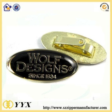 Brand logo custom engraved name plates